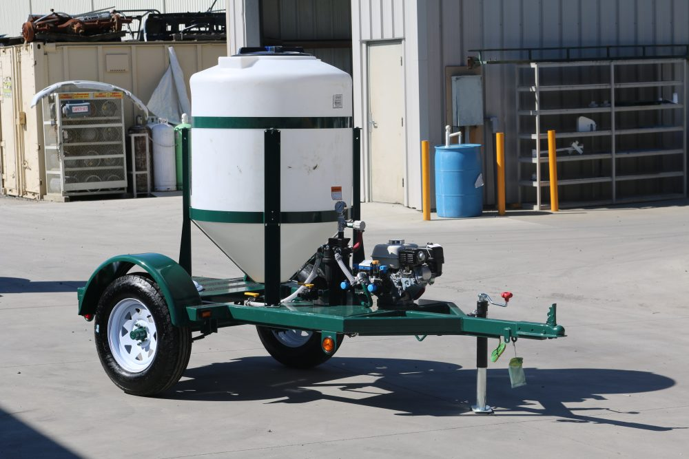 160 Gallon Acid Injection Trailer