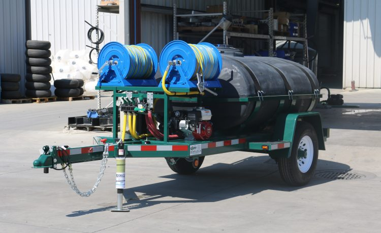 500 Gallon dual reel trailer